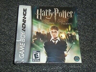 Harry Potter and the Order of the Phoenix (Nintendo Game Boy Advance, 2007) NEW