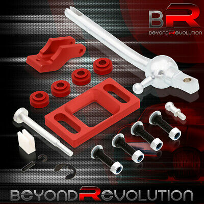 For 1995-1999 Pontiac Sunfire Red Quick Short Shifter Lever Race Track Drag
