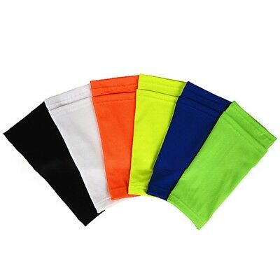 For Kids Adult Sports Shin Guard Socks Football Calf Sleeves With Top