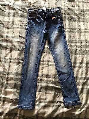Boys NEXT super Skinny Jeans Age 9yrs