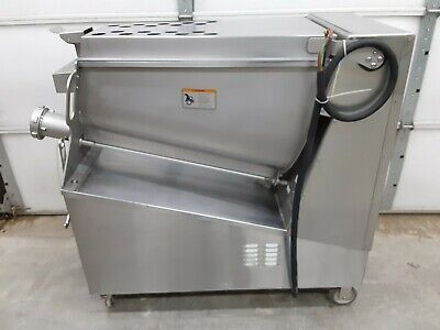Hobart MG2032 Commercial 8.5 HP Meat Mixer and Grinder, 208V, 3PH, #32, USED