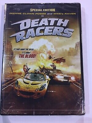 Insane Clown Posse ICP Death Racers DVD New