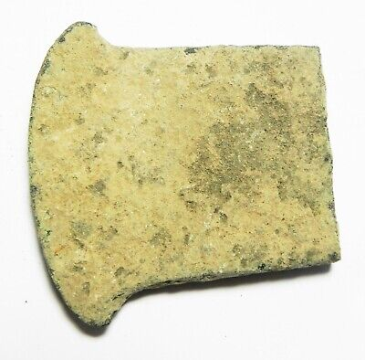 ZURQIEH -as16149-  ANCIENT HOLY LAND, 900 - 600 B.C BRONZE AXE HEAD