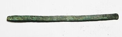 ZURQIEH -as16151-  ANCIENT HOLY LAND, 900 - 600 B.C BRONZE CHISEL