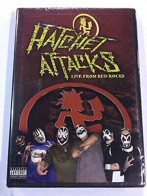 Insane Clown Posse ICP Hatchet Attacks DVD New