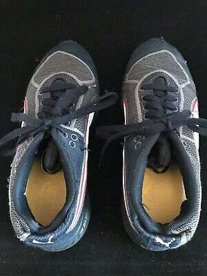 Girls Black Red White Puma Trainers Size 4 Eur 37 Ignite Red Bull Racing