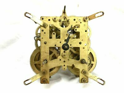 New Haven Mechanical Chiming Clock Movement for Parts | ref 22931