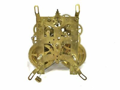New Haven Mechanical Brass Chiming Clock Movement for Parts | ref 22932