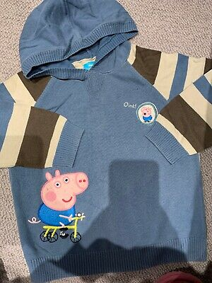 Next Boys Peppa Pig Jumper Age 3-4 years Fine Knit