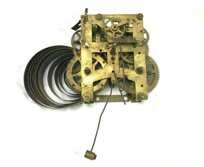 New Haven Mechanical Brass Chiming Clock Movement for Parts | ref 22933