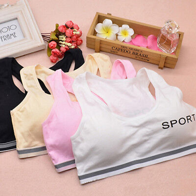 Kids Girls Underwear Bra Vest Underclothes Sports Undies Clothe wlSKWDZSHWC