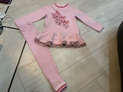Girls Designer A Dee Aw19 Cherry Blossom Outfit Age 6 Years Vgc
