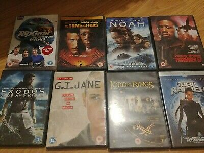DVD Bundle of 8 Popular movies!! Excellent Condition