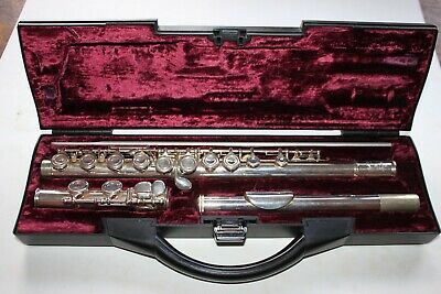 Buffet Crampon Paris Flute In a Plush Lined Case Just serviced