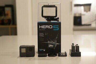 Used GoPro Hero5 HD Black Edition Action Camera Plus Extras