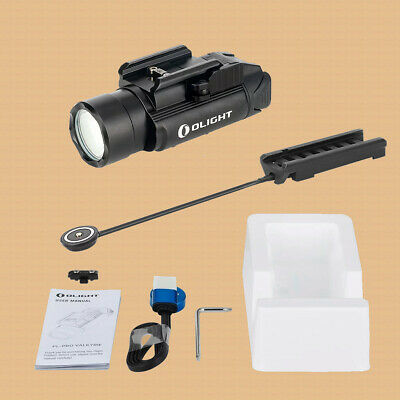 New! Olight PL-PRO Valkyrie Rechargeable Rail Mount Light + RPL-7 Remote Switch