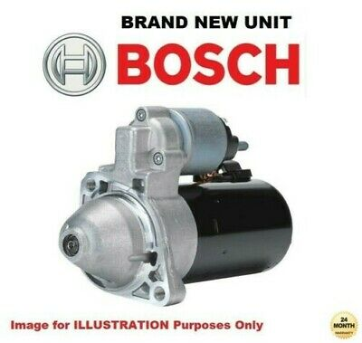 BOSCH New STARTER MOTOR for MERCEDES BENZ SPRINTER Chassis 311 CDI 2016->on