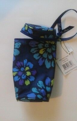 NWT Vera Bradley Baby Bottle Caddy in Indigo Pop Insulated Free Shipping #54