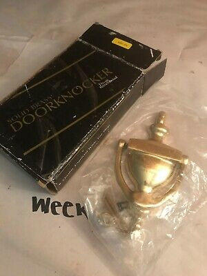 Things Remembered Solid Brass Door Knocker