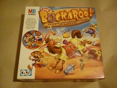 Buckaroo MB Games Complete With Rules Tested And Working Hasbro Family Game Kids