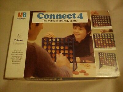 Connect 4 The Vertical Strategy Game By MB Games Complete With Rules Kids Family