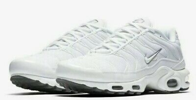 NIKE AIR MAX Plus 604133 139 Triple White Tuned Air Tn 97 98