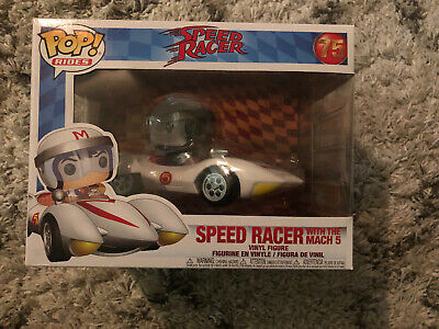IN STOCK - Funko POP! Animation Rides Speed Racer Speed with Mach 5 - NEW