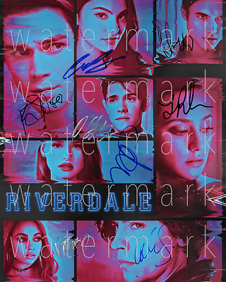 Riverdale signed KJ Apa Reinhart Sprouse 8X10 photo picture poster autograph RP
