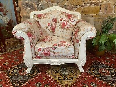 Stunning Vintage French Provincial Armchair~Lounge,Chair-Hamptons