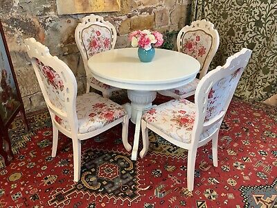 Stunning Vintage French Provincial 5 pce Dining Suite~Table,Chair-Hamptons