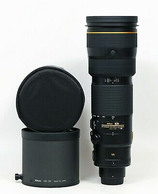 Nikon NIKKOR 200-400mm f/4 II SWM AF-S VR IF N ED Lens Two Years Old Mint