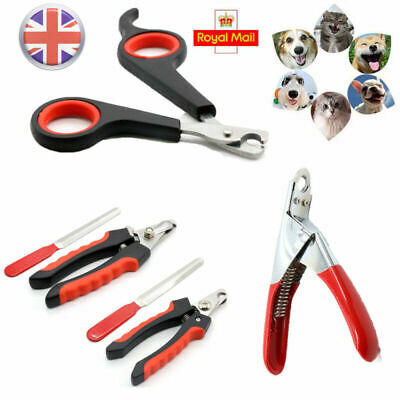 Pet Dog Cat Rabbit Bird Guinea Pig Claw Nail Clippers Trimmers Scissors Cutters
