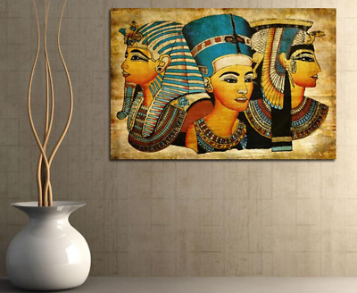Canvas Art Egyptian Pharaoh Wall Stickers For Home Decor Abstract Print Modern