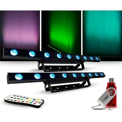 CHAUVET DJ Lighting Package with COLORband LED Effect Light, IRC-6 and D-Fi