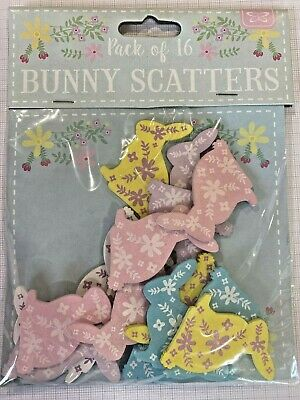 Easter Wooden Table Scatters Confetti Decorations