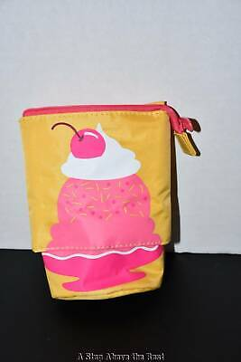 Thirty One Hide and Peek Pouch in Sundae Surprise NWT