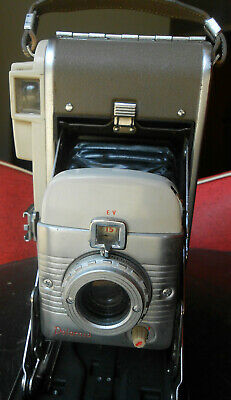 VINTAGE POLAROID LAND CAMERA MODEL 80A with Hand Strap
