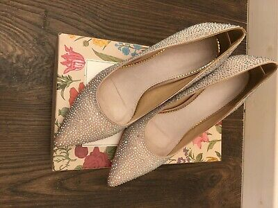 Blush Diamond Heels Size UK Size 7 (40)