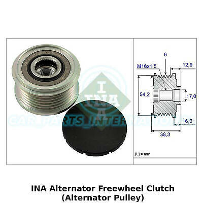 INA Alternator Freewheel Clutch (Alternator Pulley) - 535 0062 10 - OE Quality