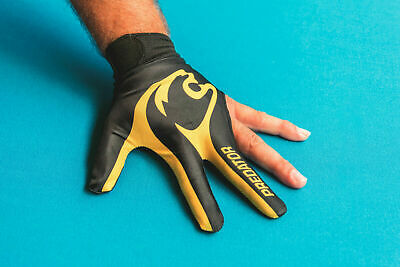 Genuine Predator LEFT Hand Logo Pool Snooker Glove L/XL and S/M