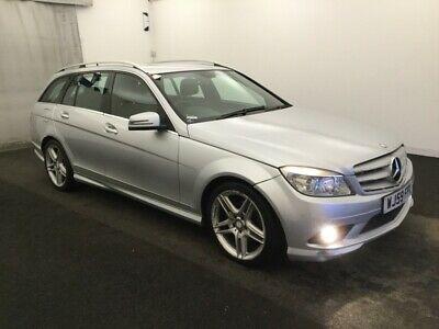 2009/59 Mercedes-Benz C200 2.1 Cdi Sport - 1/2Leather, Alloys, Lovely