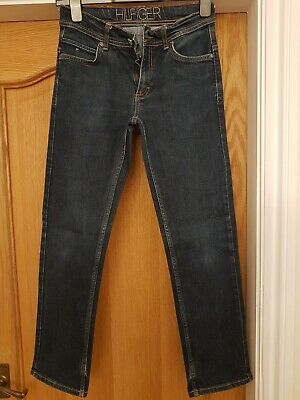 Boys Tommy Hilfiger Blue Jeans Age 12 slim fit, perfect condition, hardly worn