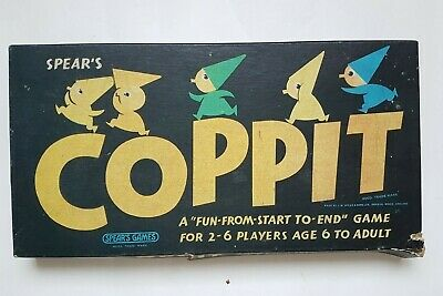 Coppit Board Game By Spears Games With Rules Kids Family Toy Vintage