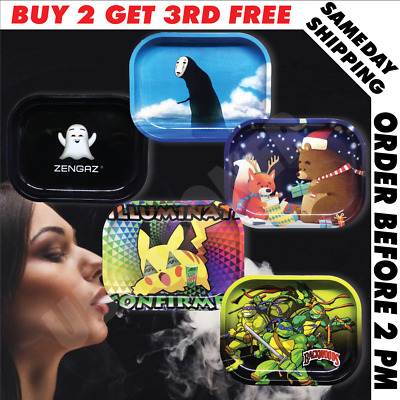 Cartoon Hd Tobacco Herb Tray Rolling Machine Holder