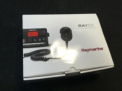 R70484 Raymarine VHF fist mic microphone clip for boat black yacht etc