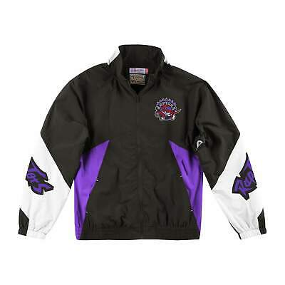 Mens Mitchell & Ness NBA Midseason Windbreaker 2.0 Toronto Raptors