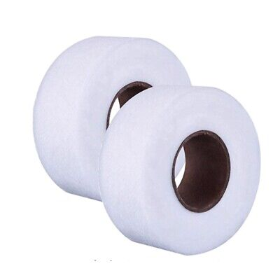 5m 10m IRON ON HEMMING TAPE ROLL HEMMING WEB CLOTHES SEWING TURN UP HEM EASY USE