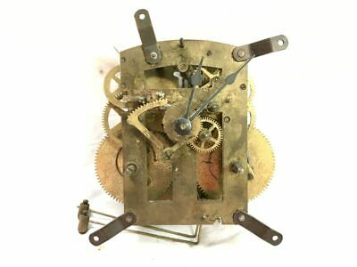 Ca. 1920s Herschede Time & Strike Mechanical Clock Movement for Parts | 22941