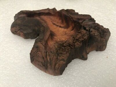 Vietnam Wood Carved Ashtray Handmade From Old Roots #1
