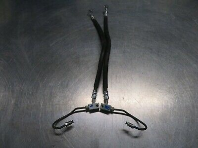 Eb693 2012 12 Suzuki Burgman An400A Front Brake Lines Hoses Abs To Levers